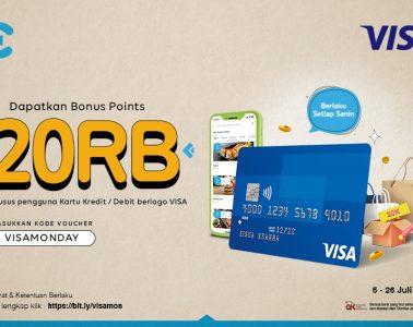 cashbac visa monday 20 ribu