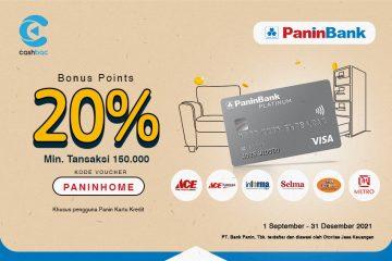 cashbac panin home living 20%