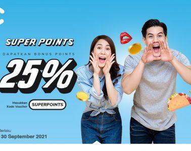 cashbac super points